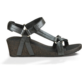Teva Ysidro Universal Wedge Metallic Sandals Women Gunmetal